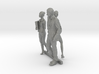 HO Scale Standing People 9 3d printed This is a render not a picture