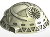 6mm Scale Communications Dome 3d printed