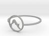 yoga downward facing dog ring 3d printed