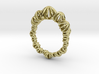 Sea Urchin Small Ring 3d printed