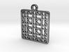Tessellation Pendant (005) 3d printed