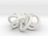 Torus Knot (2,7) 3d printed