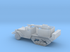 1/144 Scale M3 HalfTrack with 40mm AA Gun 3d printed