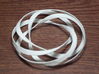 Torus2 3d printed torus with a single spiral wrapping 4 times