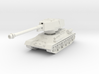 T34-100 tank scale 1/72 3d printed
