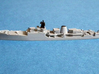 HMS Exmouth 1:1250 & 1:600 3d printed 1/1200 Smooth Detail by Jeff (Twelvehundred)