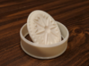 Holiday Cookie Stamp 3d printed The cookie cutter with the stamp.