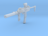 1/10th MP7tactical4 3d printed