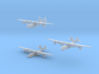 """Sikorsky S42 Flying Boat Set 3d printed Sikorsky S42  1/1250 scale models: """" in flight"""", with beaching gear and """"waterline"""", by CLASSIC AIRSHIPS"""