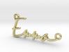 Emma Script First Name Pendant 3d printed