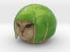 Lime cat is not amused! - The famous internet meme 3d printed