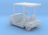 HO Scale Golf Cart  3d printed This is a render not a picture
