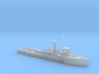 1/600th scale polish gunboat General Galler 3d printed
