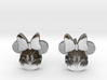 Minnie Mouse Earrings 3d printed