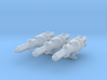 NuBlazers Amerik Frigate Group - Fleetscale 3d printed