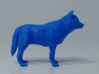 Low Poly Wolf 3d printed