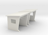 1/87 French bus shelter / abribus béton 3d printed