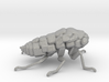 Cicada! The Somewhat Smaller Square-ish Sculpture 3d printed Have you ever seen an aluminum cicada!?