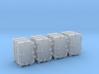 "1/35 Royal Navy 4.7"" Ready Use Lockers (Small) x4 3d printed 1/35 Royal Navy 4.7"" Ready Use Lockers (Small) x4"