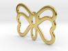 Butterfly Pendant / Necklace-23 3d printed