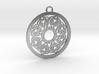 Ornamental pendant no.2 3d printed