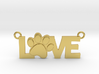 Unconditional Love Pendant 3d printed