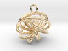 7-Knot Earring 15mm wide 3d printed