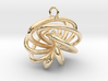 7-Knot Earring 20mm wide 3d printed