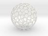 Goldberg polyhedron GP(2, 2) 3d printed