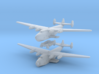 Boeing 314 Flying Boat Set 1/1250 and 1/1200 scale 3d printed Boeing B314 in 1:1250 scale by CLASSIC AIRSHIPS