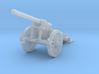 1/160 De Bange cannon 155mm 3d printed