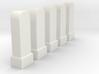 Hektometersteine Kilometersteine km 12,3 - km 12,7 3d printed