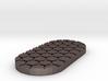 Honeycomb 50mmx25mm Miniature Base Plate 3d printed