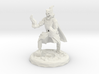 Skull Mage With Fire Hands Low Poly Version 3d printed