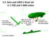 SS Zero and UBIII U-Boat set 3d printed Assembly instructions page 2 of 2