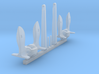 1/192 Anchors for Destroyers and Auxiliaries 3d printed