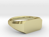 UNISEX Pinky Ring Multiple Sizes 3d printed