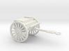 1/72 Scale Artillery Cart M1918 3d printed
