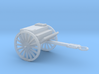 1/100 Scale Artillery Cart M1918 3d printed