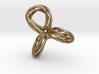 Cyclic Knot Sculpture 3d printed