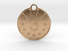 Medaille Bronze 3d printed
