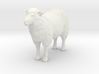 O Scale Sheep 3d printed This is a render not a picture