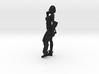1/12 Gantz Anzu Sci-Fi Girl w Pistol and Rifle 3d printed