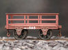 FRB01 - FR2 Ton Iron Slate Wagon (Unbraked) SM32 3d printed Completed Wagon (Other parts are required to complete, see description)