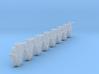 AB02a Split FR Wagon Axleboxes x8 (SM32) 3d printed