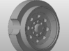 1:50 Tag trailer rims for DCP Pickup Tires Qty 8  3d printed
