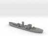 HMS Gloxinia corvette 1:1800 WW2 3d printed