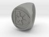 Custom signet ring 91 3d printed