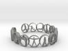 Yoga bangle with 14 poses 63.7 mm 3d printed
