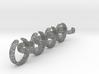 voronoi yoga ring chain 22.92 mm 3d printed